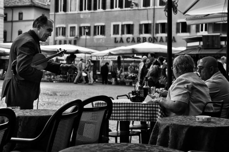 Rome 2010, piazza campo de fiori